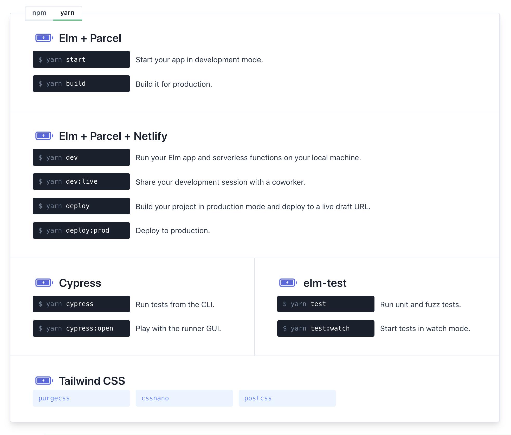 Website documentation (sneak peek)